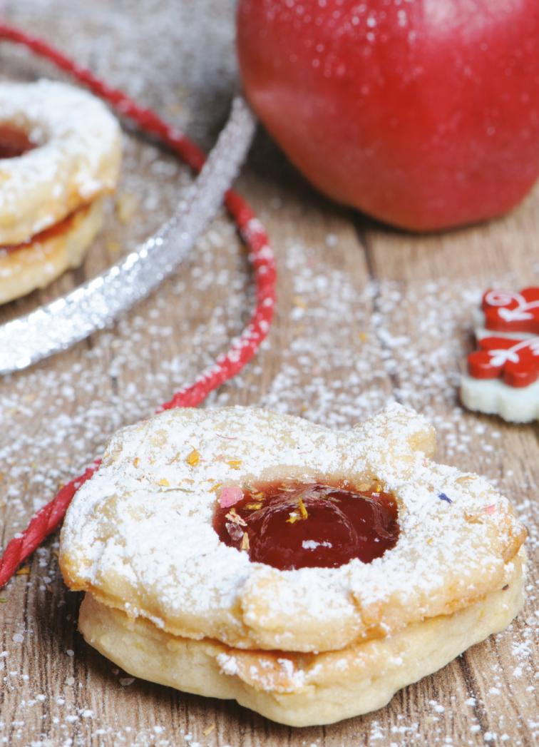 Apfel-Zimt-Kekse